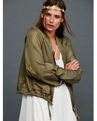 Free People Green Light And Easy Bomber