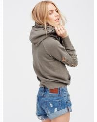 Free People Gray Lisse Pullover