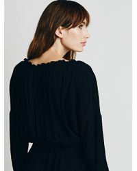 Free People | Black Love Me Like What Dress | Lyst