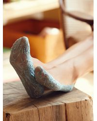 Free People | Blue Lovely Lace Liners | Lyst