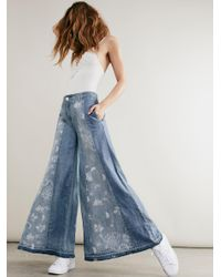 Free People | Blue Luna Extreme Flare | Lyst