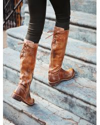 Free People   Brown Manchester Tall Boot   Lyst