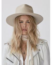 Free People   Natural Morrison Felt Hat   Lyst