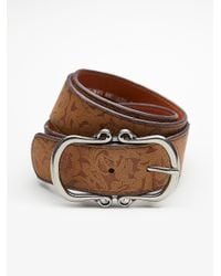Free People | Brown Most Wanted Leather Belt | Lyst
