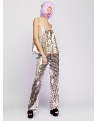 Free People Multicolor Not Your Mama's Wig