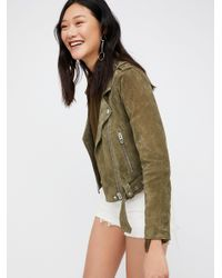 Free People | Green Olive Juice Jacket | Lyst