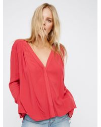 Free People | Pink Only For You Top | Lyst