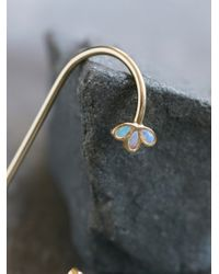 Free People | Multicolor Opal Drop Ear Cuff | Lyst