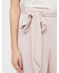 Free People | Pink Over The Moon Culottes | Lyst