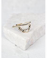 Free People | Metallic Radiant Light Ring | Lyst