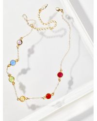Free People   Multicolor She's A Vision Choker   Lyst