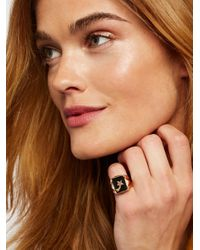 Free People - Multicolor Shooting Star Signet Ring - Lyst