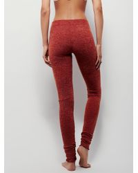 Free People - Red Soft Legging - Lyst