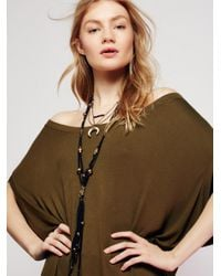 Free People Multicolor South Of The Border Leather Necklace