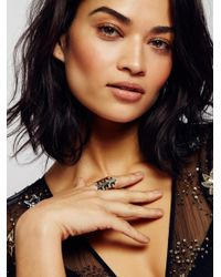 Free People | Metallic Starry Nights Ring | Lyst