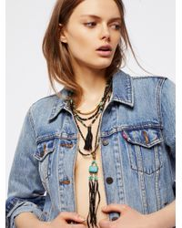 Free People | Multicolor Sun Ceremony Layered Necklace | Lyst