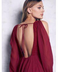 Free People - Purple Tatiana Swing Dress - Lyst