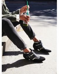 Free People | Black Vegan Valor Ankle Boot | Lyst