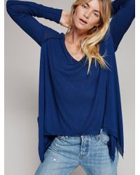 Free People   Blue We The Free Pacific Thermal   Lyst