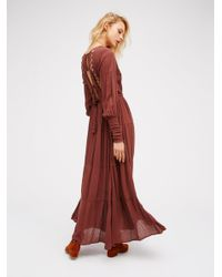 Free People | Red Wednesday Maxi | Lyst