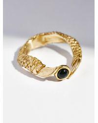 Free People | Metallic Xela Talon Stone Ring | Lyst