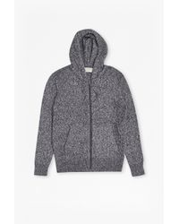French Connection | Blue Scott Knit Hoody for Men | Lyst