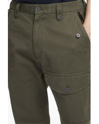 French Connection - Multicolor Compact Cotton Trousers for Men - Lyst