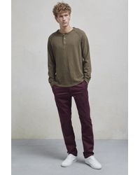 French Connection - Multicolor Machine Gun Stretch Chinos for Men - Lyst