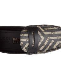Gucci Multicolor Loafers Moccasins Caleido Gg Supreme Mirò Soft