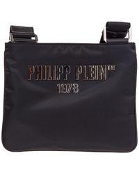 Borsa uomo a tracolla borsello pp1978 di Philipp Plein in Black da Uomo