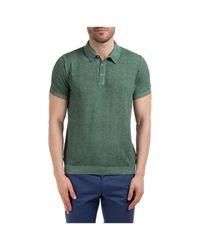 Polo t-shirt maglia maniche corte uomo di AT.P.CO in Green da Uomo