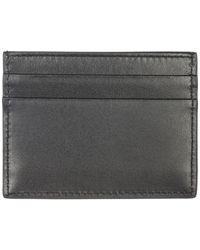 Porta carte di credito portafoglio uomo pelle di Dolce & Gabbana in Black da Uomo