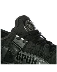 Philipp Plein Black Shoes Trainers Sneakers Sniper for men