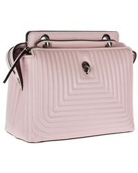 Fendi - Pink Leather Shoulder Bag Dotcom Nappa Shiny - Lyst