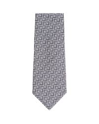 Emporio Armani Gray Tie Necktie for men