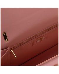 Borsa donna a tracolla pelle borsello fiocco vara di Ferragamo in Pink