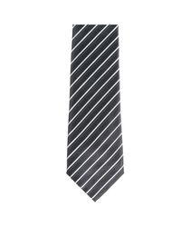 Emporio Armani Black Tie Necktie for men
