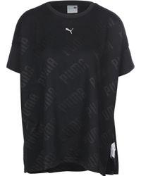 "PUMA Black T-Shirt ""En Pointe"""