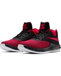 Nike Basketballschuh Air Max Infuriate III Low in Red für Herren