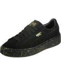 PUMA Black Schuhe Suede Platform Celebrate W