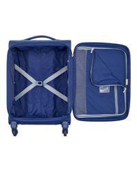 Valise souple trolley cabine Brochant 4R 55 cm Delsey pour homme en coloris Blue