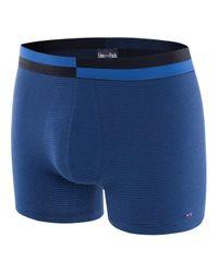 Boxer imprimé rayé Eden Park pour homme en coloris Blue