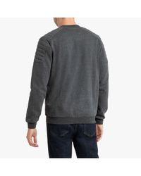 Sweat zippé col teddy LA REDOUTE pour homme en coloris Gray