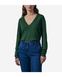 Pull Malavita Karl Marc John en coloris Green