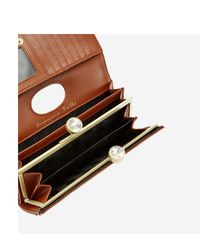Portefeuille Solange en cuir Ted Baker en coloris Brown