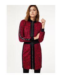 Robe animalier en molleton Liu Jo en coloris Red