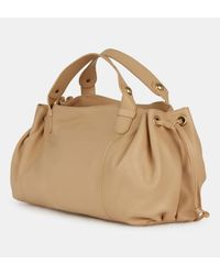 Sac bowling Biarritz cuir grainé Gerard Darel en coloris Natural