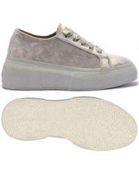 Chaussures 2287-VELVETSHININGWRINKLEDW Superga en coloris White
