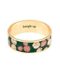 Bracelet en laiton doré et émaillé avec fermoir Bangle Up en coloris Multicolor