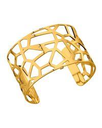Bracelet Girafe plaqué or Les Georgettes en coloris Metallic